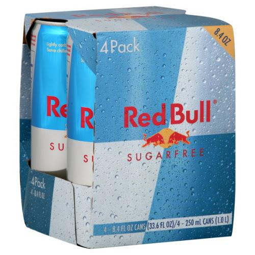 red bull sugar free 8.4 oz 4 pack