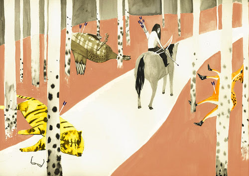 andrea wan vancouver emily carr integrated media film illustration illustrator