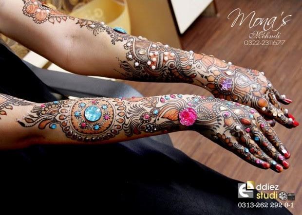Beautiful-Indian-Bridal-Wedding-New-Mehndi-Designs-Embroidery-Dulhan-Feet-Mehndi-2