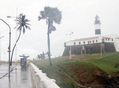 Final de semana será de céu encoberto e chuvoso na maior parte da Bahia