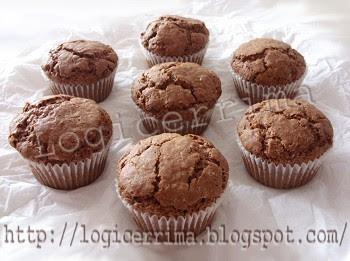 [ Muffins al Cioccolato senza Uova ]