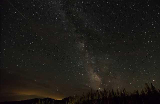 The The Milky Way,             near Mount Hood, Oregon