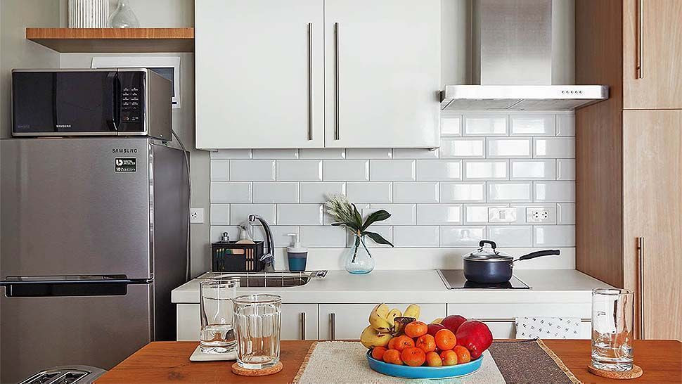 10 Extremely Tiny Kitchens From Real Homes