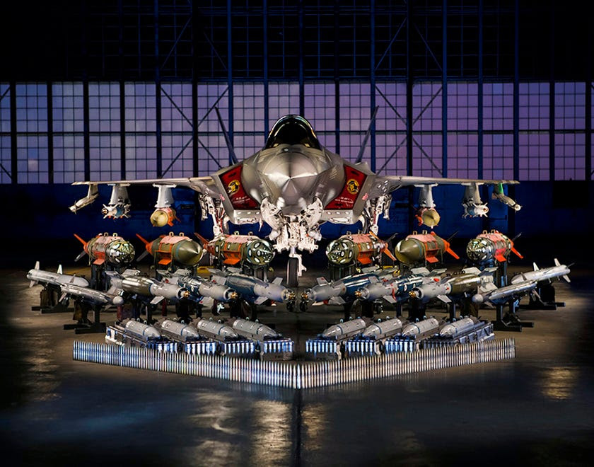 f35 weapons