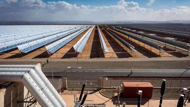 energia solar marrocos