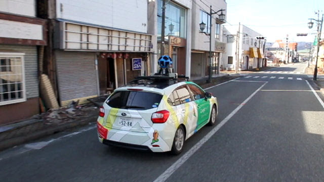 Google Begins Mapping Japans Nuclear Exclusion Zone Abc
