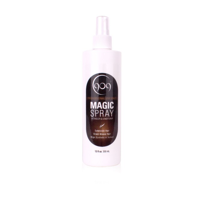 Amazon.com : 909 Moisturizing Daily Conditioner for 100% Remy Human Hair Extensions and Wigs 12