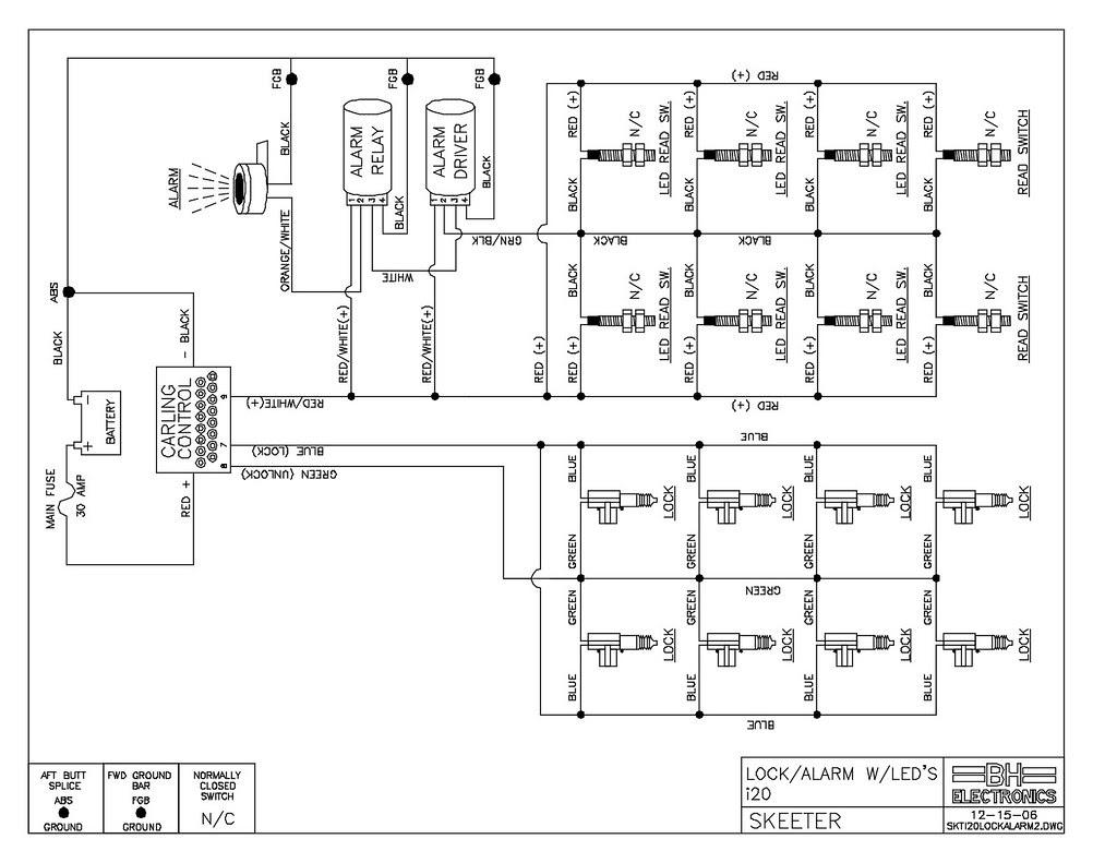 Wiring Diagram  33 Skeeter Bass Boat Wiring Diagram