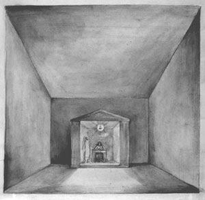 Eine Vision: Die Inspiration des Dichters (Elisha in der Kammer an der Wand)