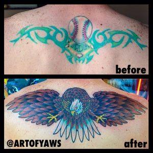 Tattoo Blowout Or Is It Still Healing Best Tattoo Piercing Shop