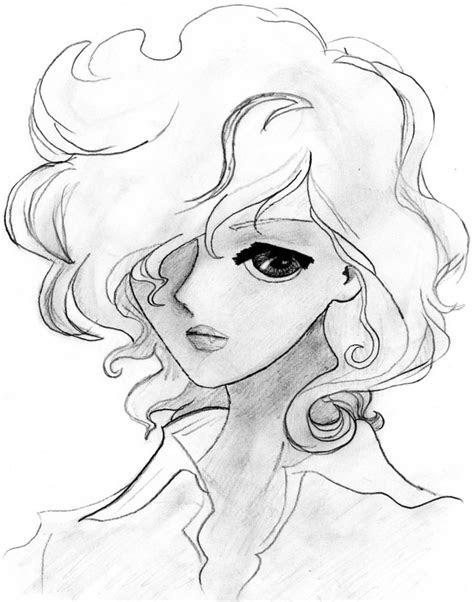 draw cartoon girl  curly hair curl stuff