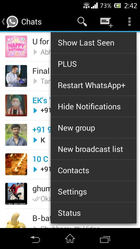 "Tutorial - How to show older/fake ""last seen on"" in Whatsapp Hide your online status | TechApple"