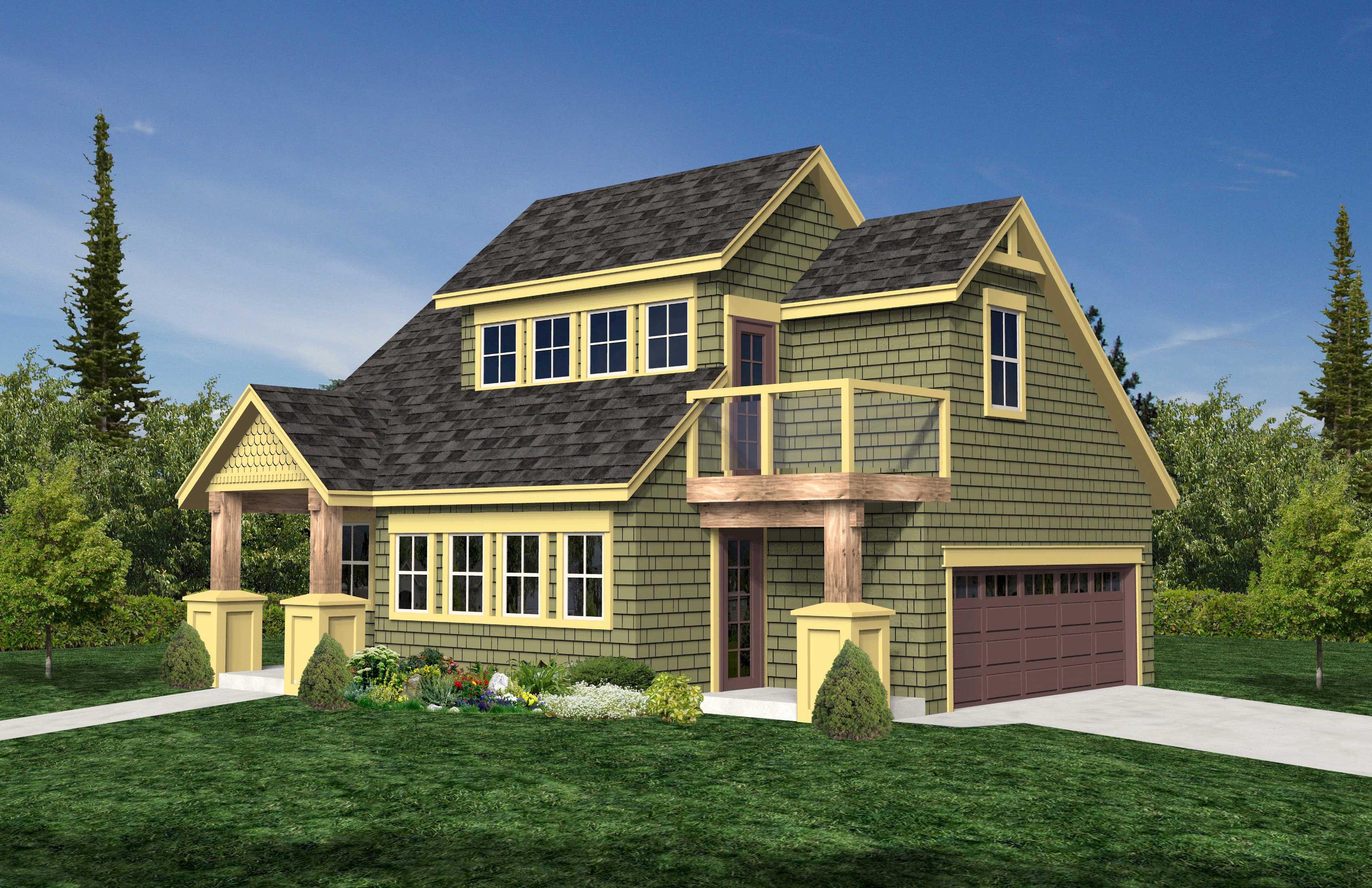 Garage House Plans Home Design RS 848
