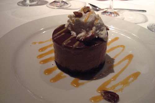 Frozen Chocolate Mousse at Blackhawk Grille