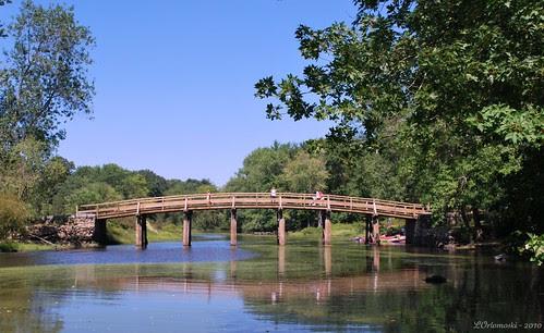 The Old North Bridge & The Concord River