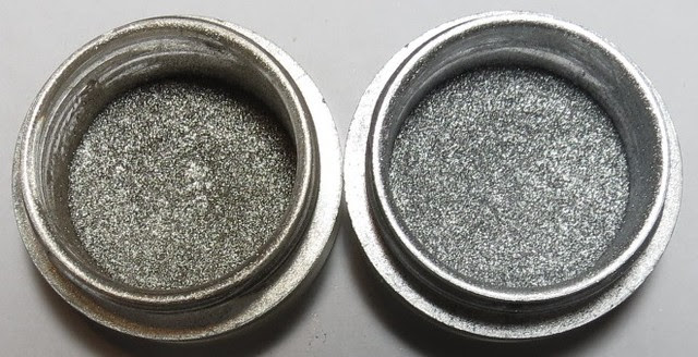 MAC Platinum and Silver Pigment