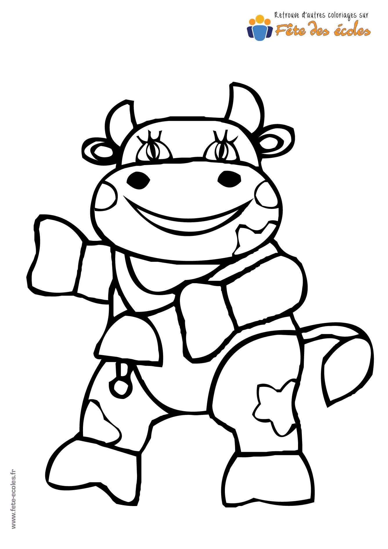 Une Vache Qui Marche