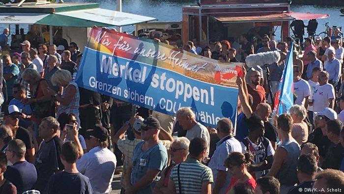 Γερμανοί εργάτες διαμαρτύρονται για την αποβιομηχάνιση στη Σαξωνία