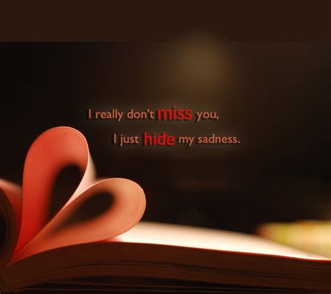 Just Really Miss You Quotes