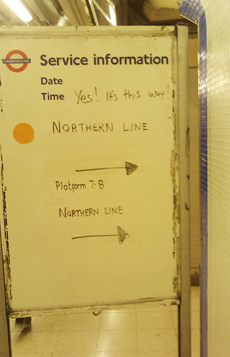 Northern Line  this way by Tom