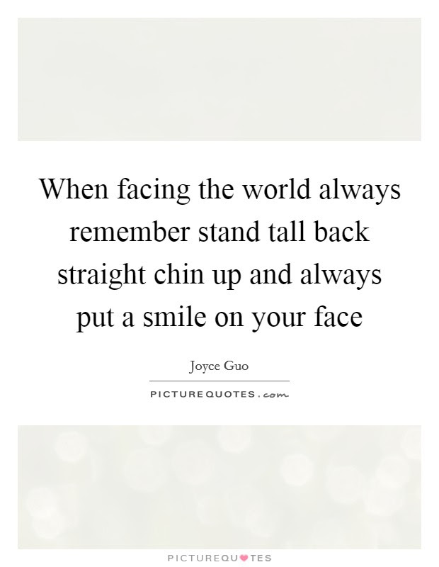 Chin Up Quotes Chin Up Sayings Chin Up Picture Quotes Page 2
