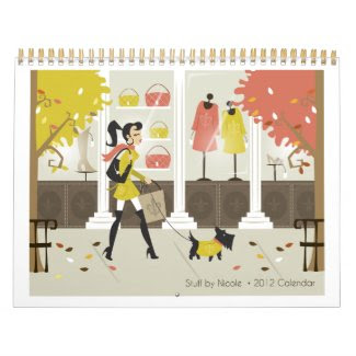 Stuff by Nicole 2012 Calendar calendar