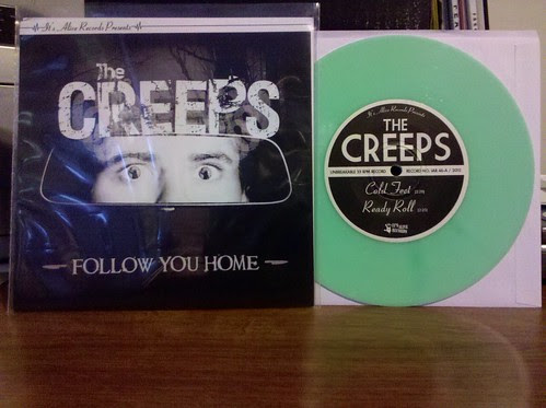 "The Creeps - Follow You Home 7"" - Glow In The Dark Vinyl / 100 by factportugal"
