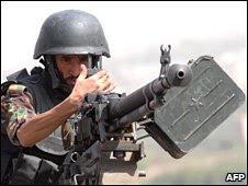 Member of Yemen's anti-terrorism force