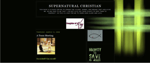 Supernatural Christian