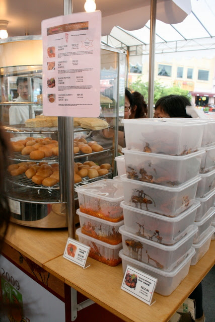 Chen Fu Ji selling chili crab and black pepper crab