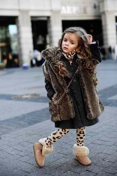 Adorable in her fur