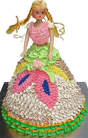 Top 10 Item - Doll Starred Birthday Cake Mahaweli Reach ...