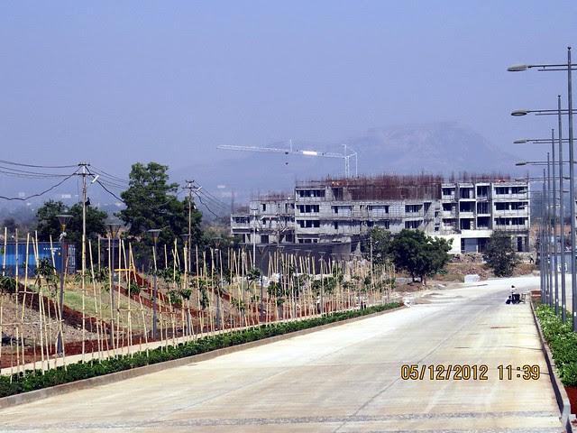 4th Avenue & 6 Lane Concrete Road - Development in the 1st Year - Kolte-Patil Life Republic Marunji, Hinjewadi - Kasarsai Road, Pune 411057