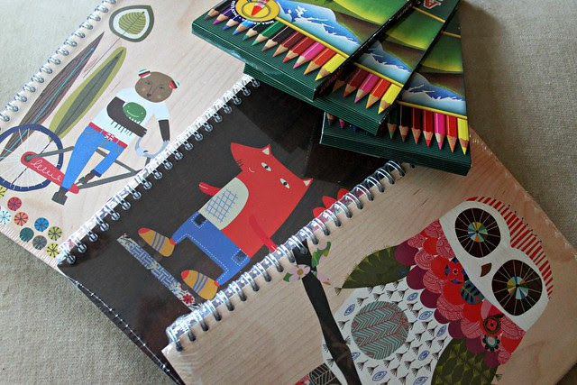 Notebooks and Pencils from Stubby Pencil Studios