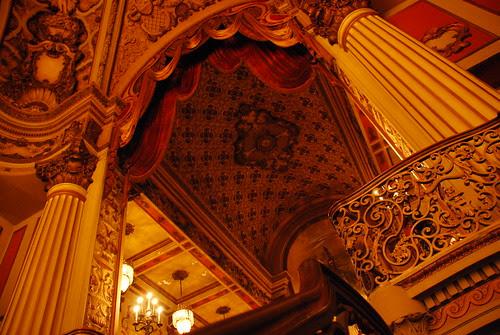 Los Angeles Theatre Mezzanine Ceiling