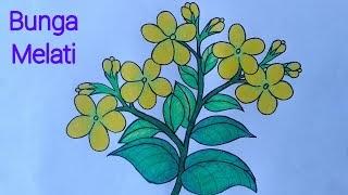 Mewarnai Gambar Bunga Dengan Gradasi Kumpulan Gambar Menarik