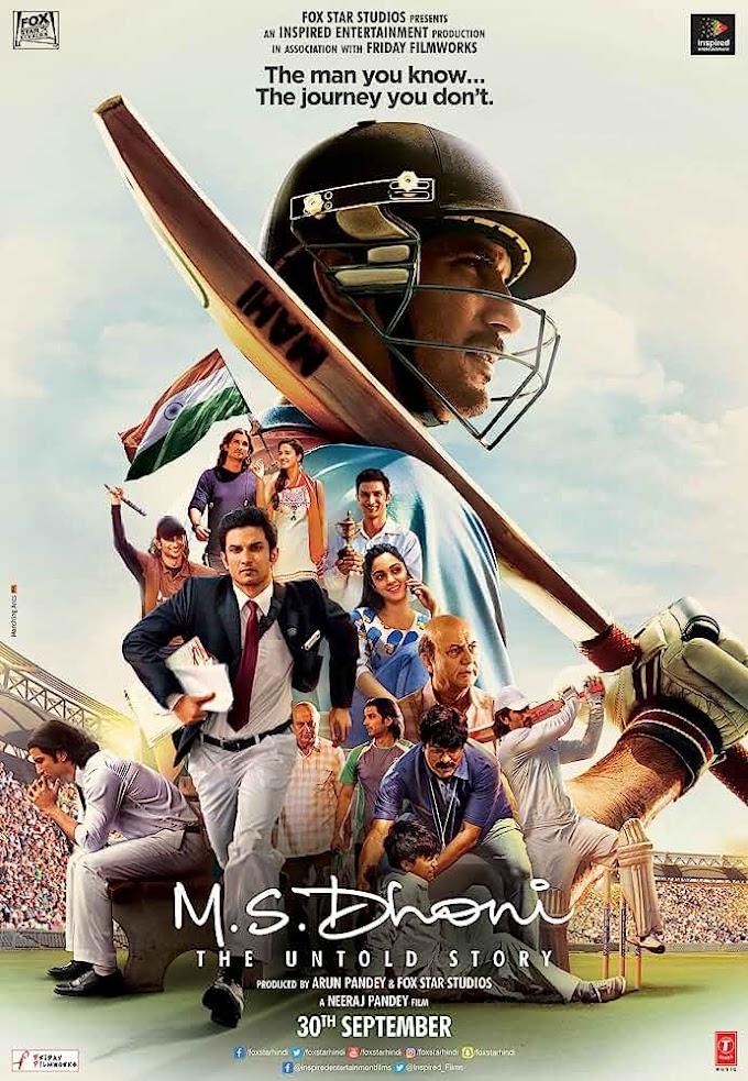 M.S. Dhoni: The Untold Story (2016) Hindi 720p HEVC BluRay x265 ESubs [750MB] Download