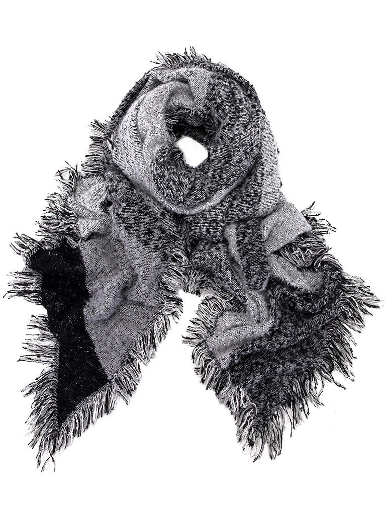 LM personalised oversized scarf