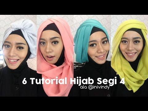 VIDEO : 6 tutorial hijab segi empat praktis bahan paris ( bahasa jawa ) - menggunakan hijab paris kadang mati gaya dengan style yang terbatas. kali ini saya akan ngevlog sambil bikinmenggunakan hijab paris kadang mati gaya dengan style ya ...