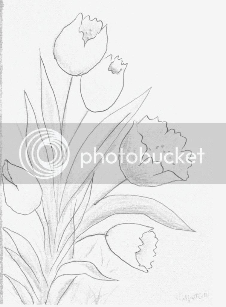 risco tulipas