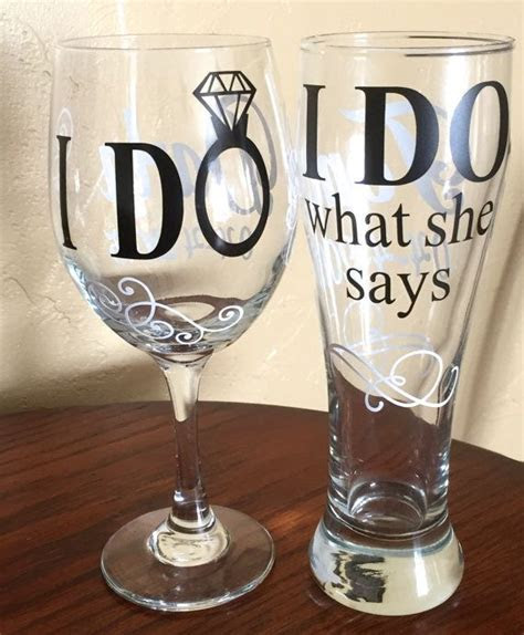 I Do / I Do What She Says Wedding Wine by