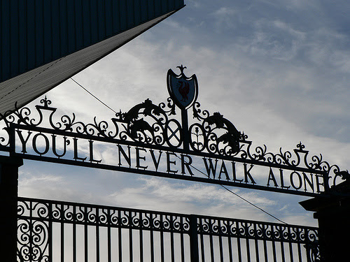 """""""Shankly Gates"""" by Andynugent at en.wikipedia a.k.a. Andynugent at Flickr a.k.a. Andy Nugent. - Transferred from en.wikipedia. Licensed under CC BY-SA 2.5 via Wikimedia Commons."""
