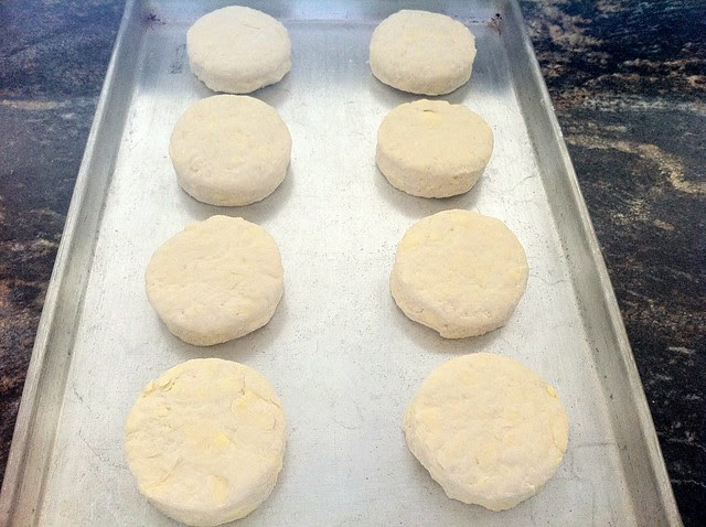 Biscuits Read to be Baked