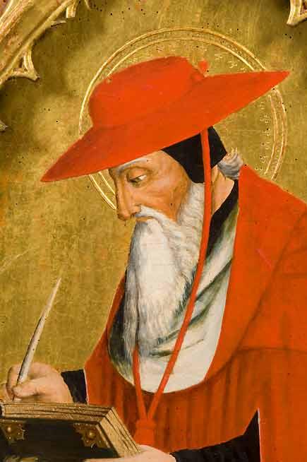 san Gerolamo, polittico di Giovanni Canavesio