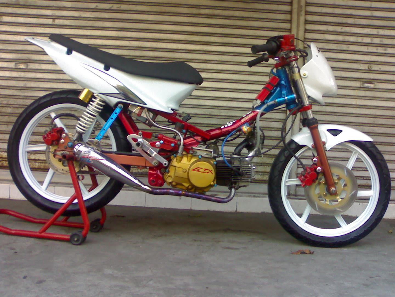 Koleksi Foto Modifikasi Motor Supra Fit New Terbaru Modispik Motor