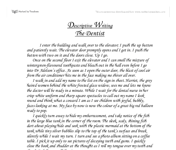 how to write a descriptive essay about your ideal school