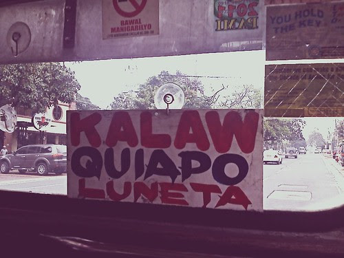 Jeepney inside