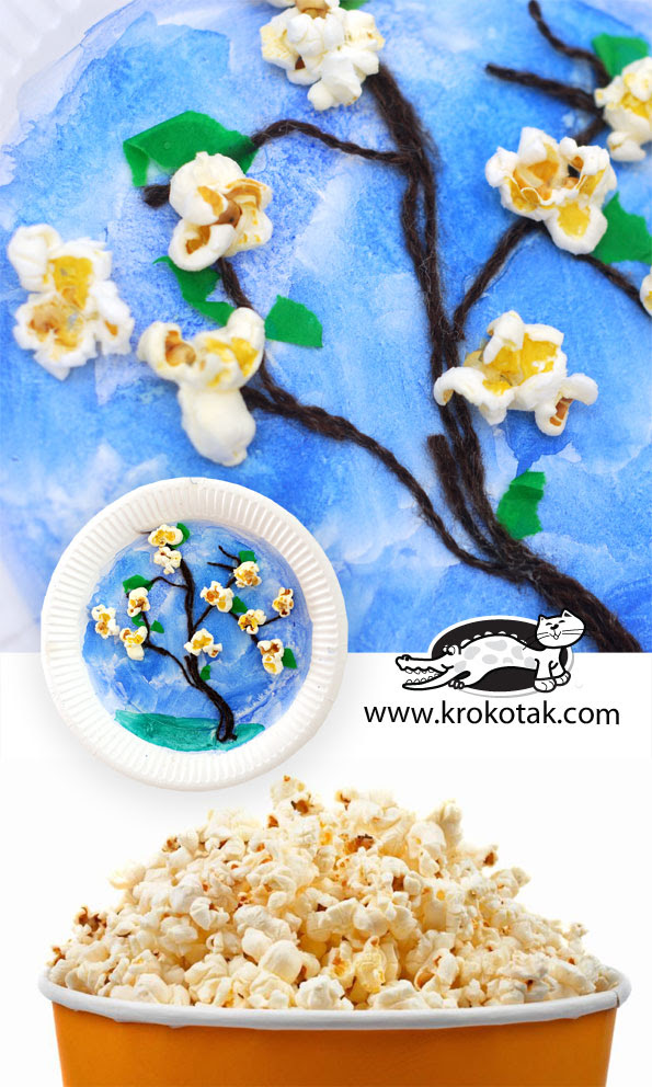 coverPopcorns and trees in blossom