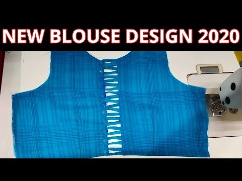 New Boat Neck Blouse Design 2020    Blouse Design Cutting And Stitching ...