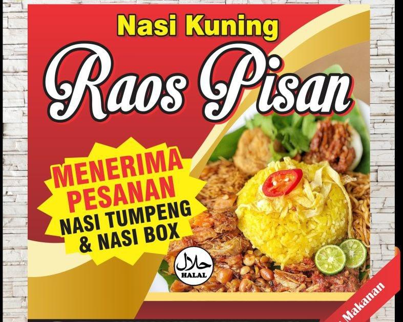 Banner Promosi Makanan Dan Minuman - desain banner kekinian